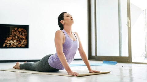 Yoga exercise frequently soothes back pain