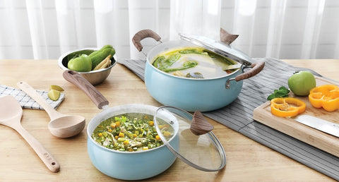 Making homemade vegetable soup for your post yoga is a classic and healthy choice