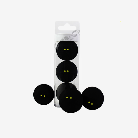 FANGCAN Professional Squash Tube Two-Yellow Dots