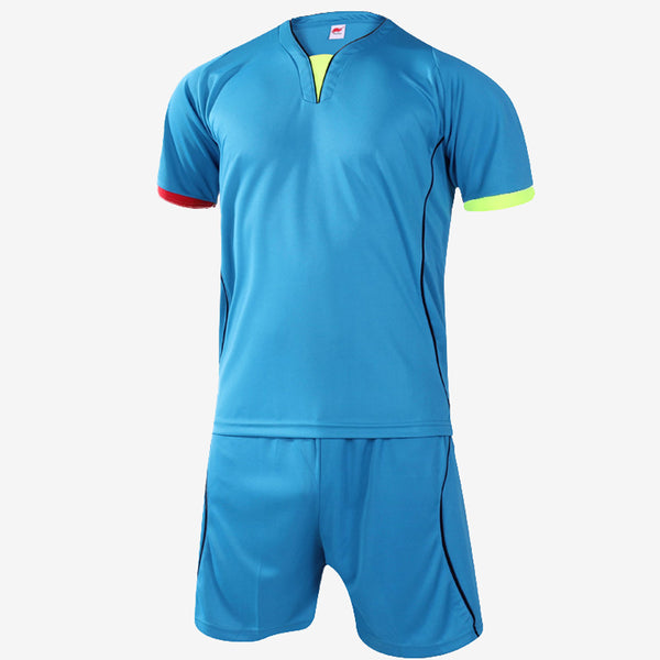 Football Training Two Piece Set In Blue