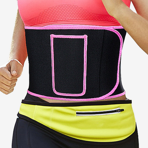 Pocket Sweat Waist Trainer Belt