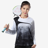 Badminton Training Long Sleeve Shirt