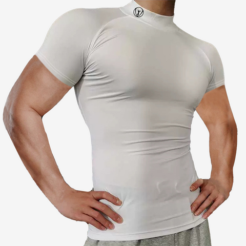 Mock Neck Seamless Training Top