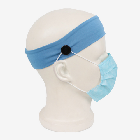 Running Non Slip Mask Headband