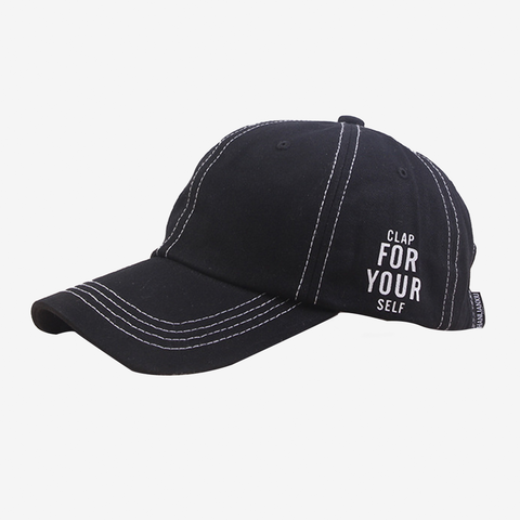 Text Embroidery Adult Cap