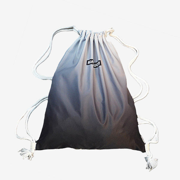 Waterproof Gradient Colour Drawstring Bag