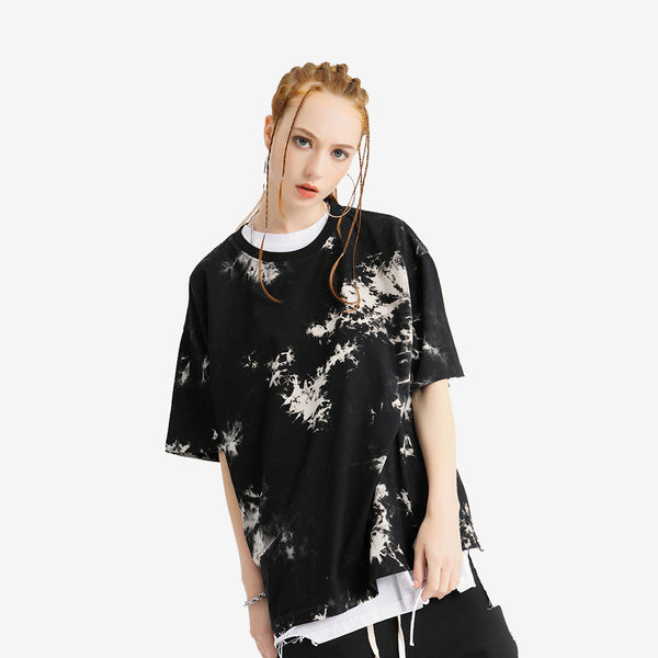 Hi-Street Tie Dye Shirt in Black