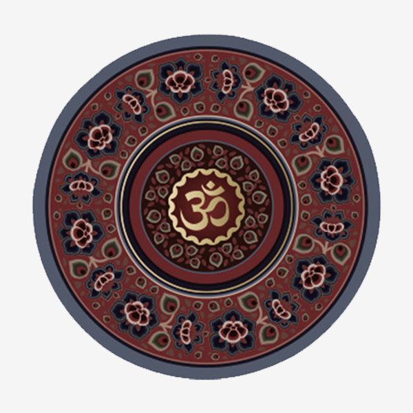 Flower Speech Meditation Yoga Mat