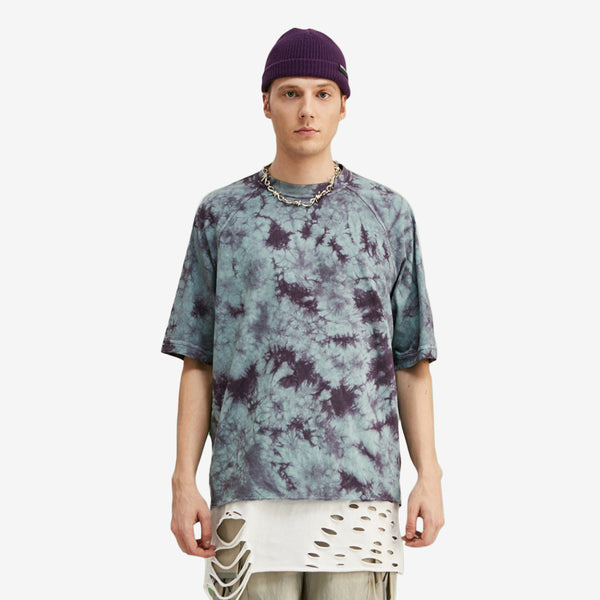 Oversized Abstract Tie Dye T-shirt