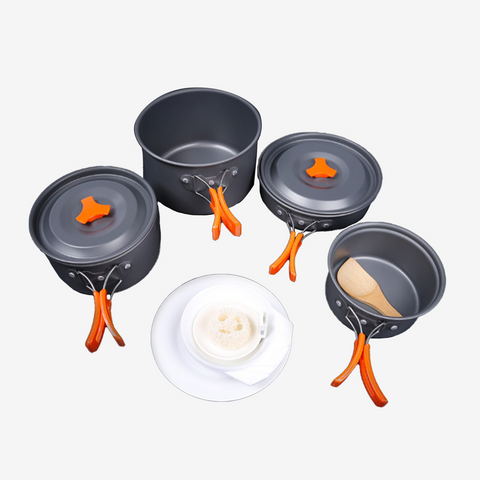 Woft 4-5 Person Outdoor Cookware Set