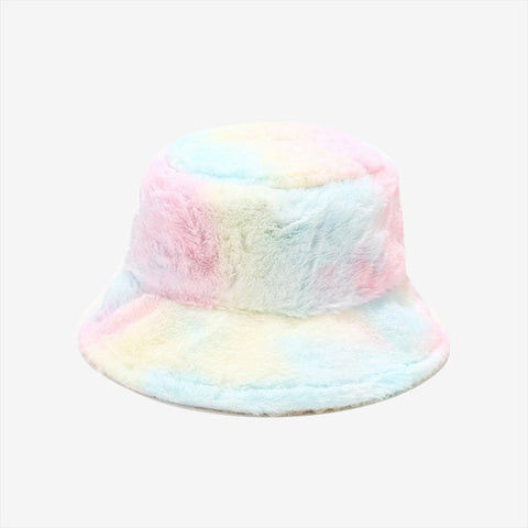 Fluff Cotton Candy Bucket Hat