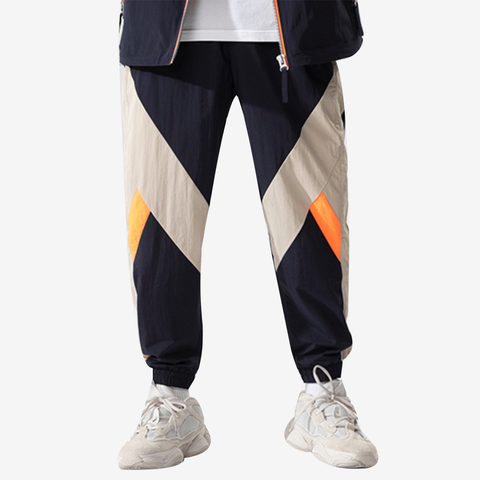 Contrast Color Trackpants