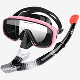 Antifogging Mask Snorkeling With Full Dry Respiratory Tube