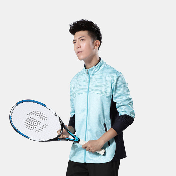 Badminton Colour Contrast Training Jacket