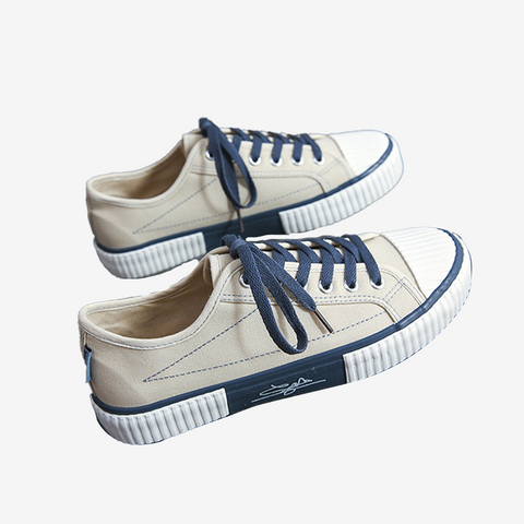 Colourblock Canvas Shoes