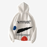 Plus Size Graphic Print Oversized Hoodies