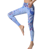 Peacock Arts Print Legging