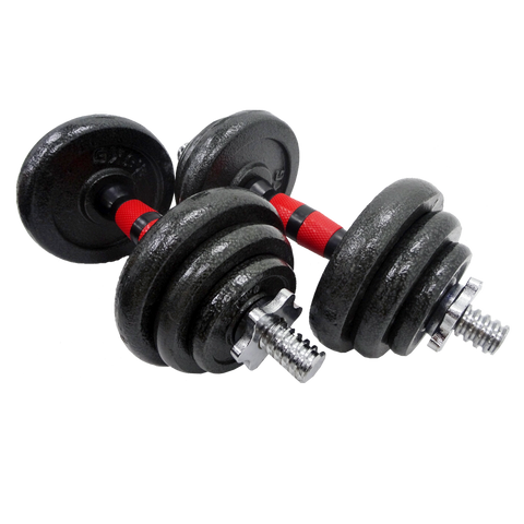 2 In 1 20kg Iron Dumbbell