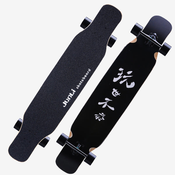 Classic Black 46 Long Skateboard