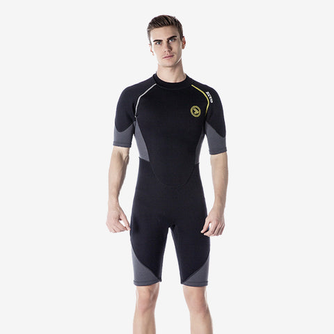 1.5mm Short Sleeves Men Wet Suit