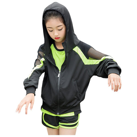 Mesh Sleeve Jacket Children