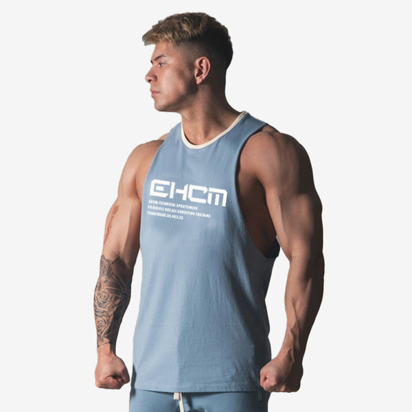 Text Muscle Tank Top