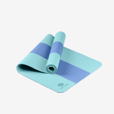 Dual-Colour TPE Anti-Slip Yoga Mate -8mm