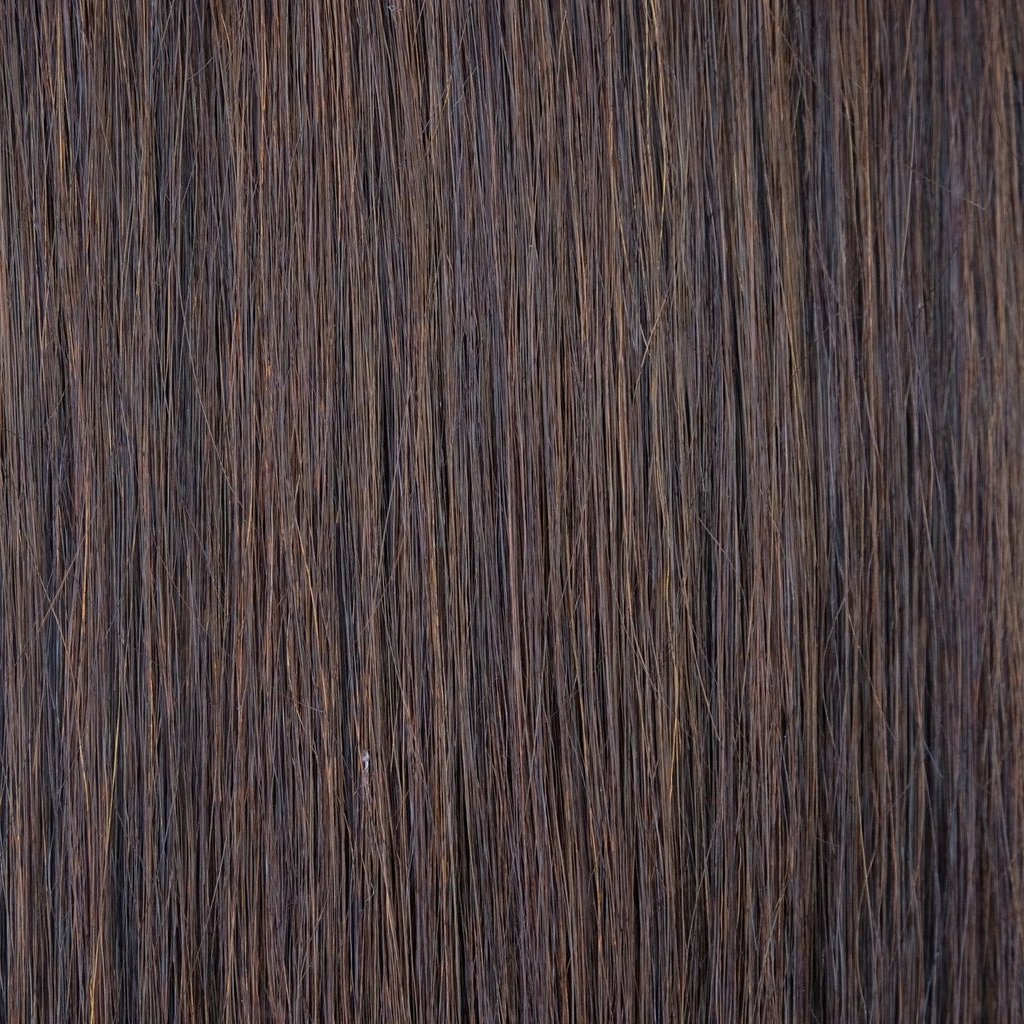 Chocolate Brown #2 Halo Hair Extension