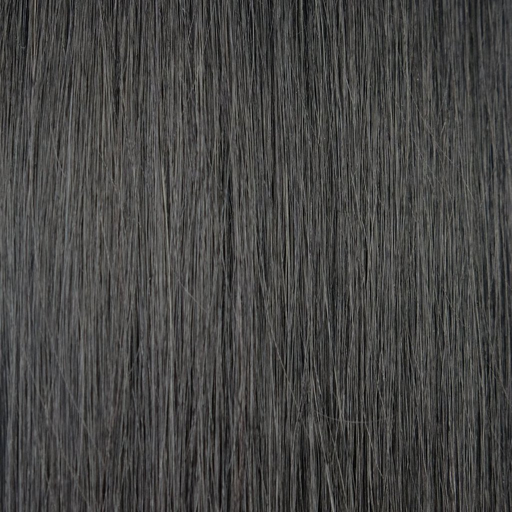 Dark Brown #1B Halo Hair Extensions