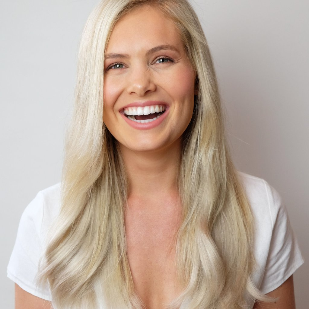 Nordic Blonde #60 Halo Hair Extensions