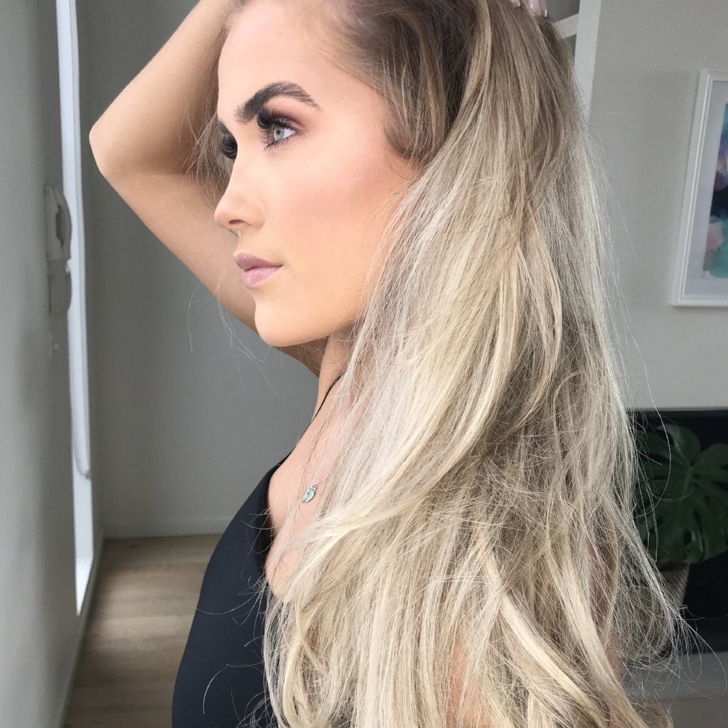 Ash Blonde Halo #18 Halo Hair Extensions
