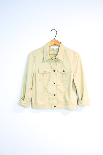Jacket coupe-vent beige