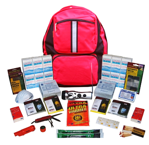2-Person ''Grab-'N-Go'' Emergency Kit
