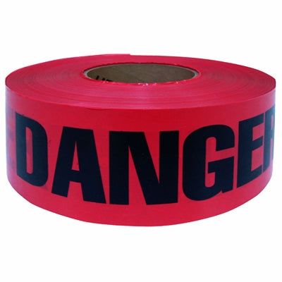 1000' Red ''Danger'' Caution Tape