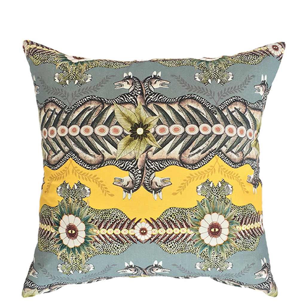 Bush Bandits Butter Dust Linen Cushion Cover