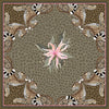 Set of Two Leopard Lily Napkins in Safari