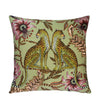 Lovebird Leopards Delta Cushion Cover