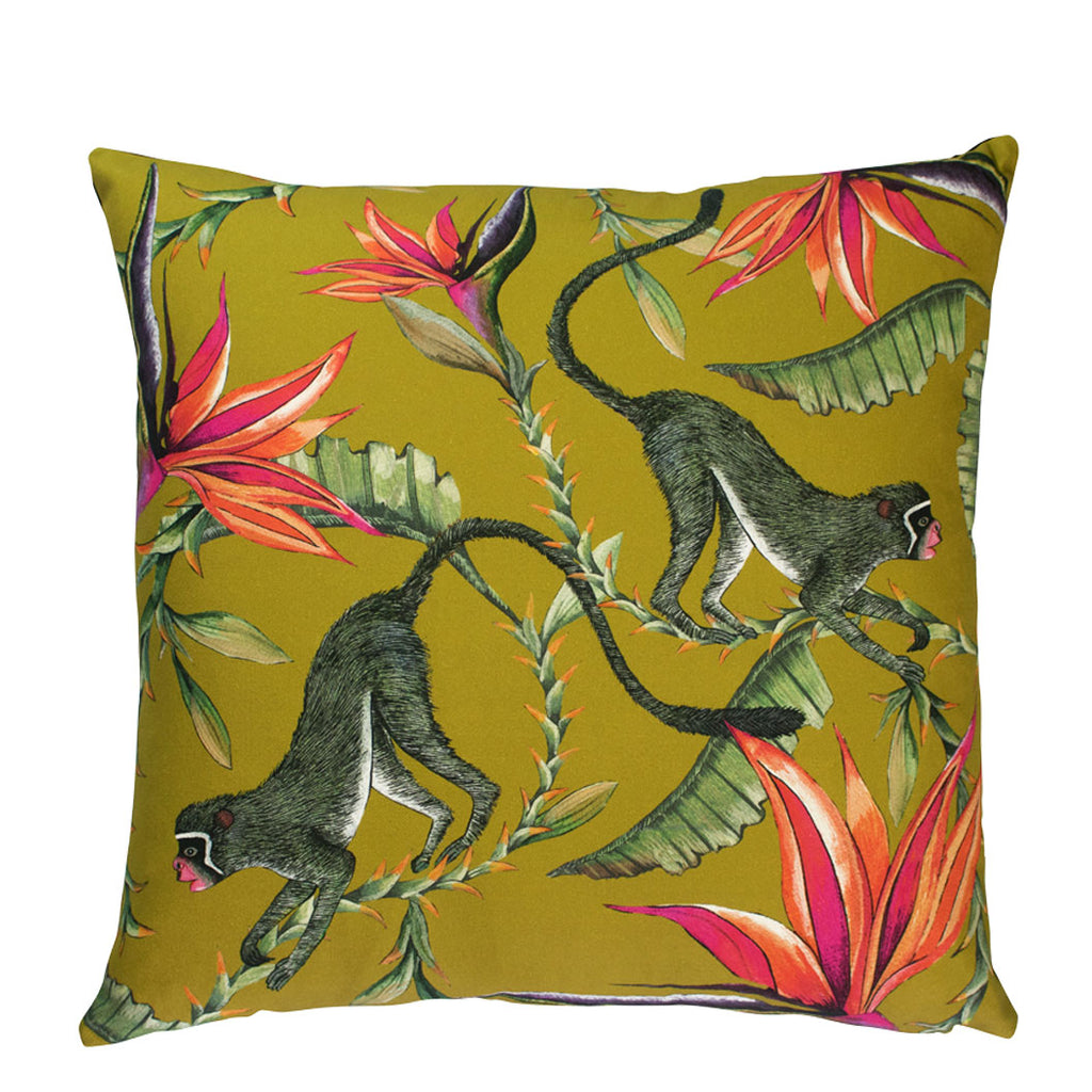 Monkey Paradise Swamp Cushion Cover
