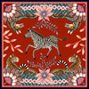 Set of Two Bush Bandits Napkins in Royal Red