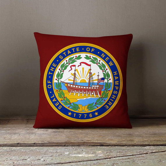New Hampshire State Flag Pillowcase