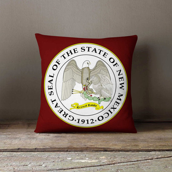 New Mexico State Flag Pillowcase