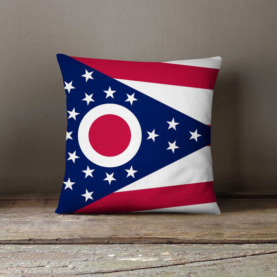 Ohio State Flag Pillowcase