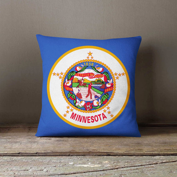 Minnesota State Flag Pillowcase