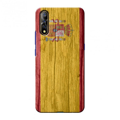 Spain flag- Wood textures Slim Hard Shell Case For