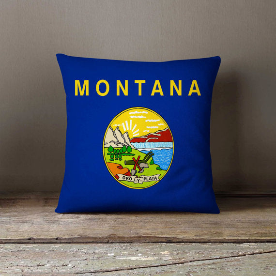 Montana State Flag Pillowcase