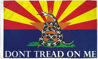 Arizona Dont Tread On Me Flag Polyester | Flags Importer