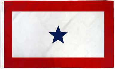 US Military Blue Star Service Flag