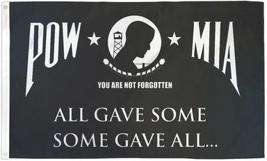 US Military POW Some Gave All Flag