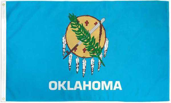 Oklahoma Flag Polyester | Flags Store