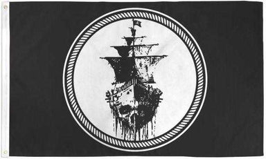 Black Sea Pirate Flag